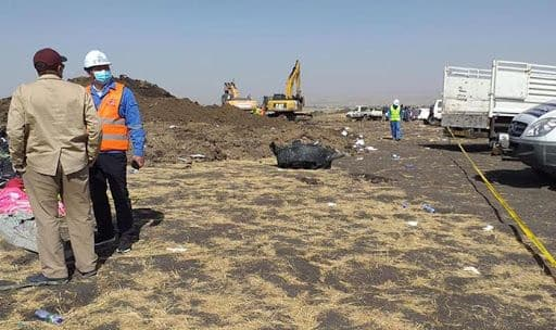 Black Box Recovered From Wreckage of Nairobi-bound Ethiopian Airlines Aircraft