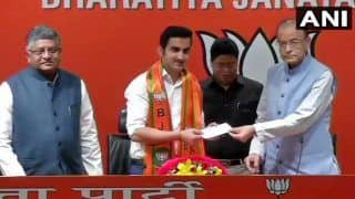 Lok Sabha Elections 2019: Former Indian Cricketer Gautam Gambhir Joins BJP, Expected to Contest From New Delhi Seat