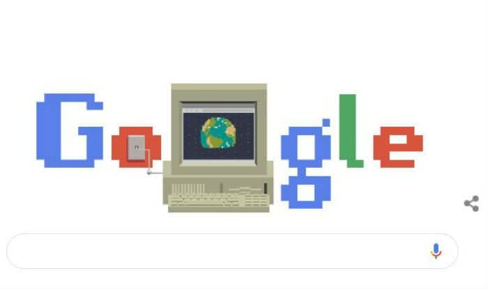Google Celebrates 30th Anniversary of World Wide Web (WWW) With an Animated Doodle