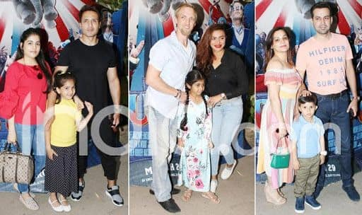 Popular TV Celebs Attend The Special Screening of Disney's Family Film 'Jumbo'