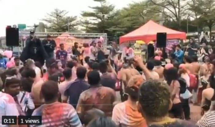 People in Taiwan Celebrated a Colourful And Fun-Filled Holi With Bollywood Songs, Watch Viral Video