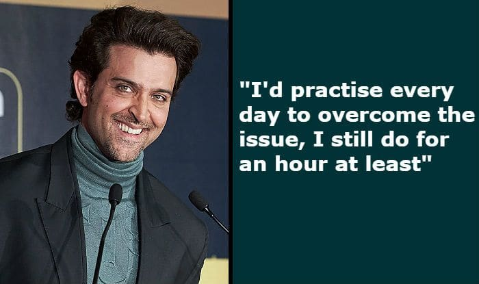 Hrithik Roshan Talks About Stammering, Reveals he Couldn't Even Say The Word 'Dubai' Once