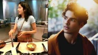 Janhvi Kapoor Turns Chef For Ishaan Khatter And Shows Some 'Dhadak' Chemistry, Video Goes Viral - Watch