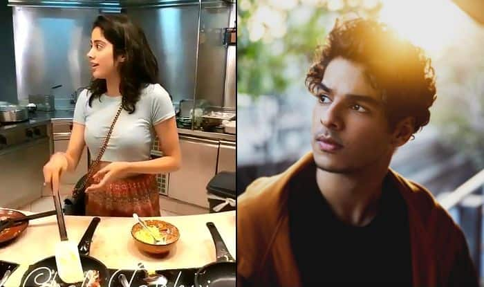 Janhvi Kapoor Turns Chef For Ishaan Khatter And Shows Some 'Dhadak' Chemistry, Video Goes Viral – Watch