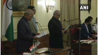 भारत के पहले लोकपाल के रूप में जस्टिस पीसी घोष ने ली पद और गोपनीयता की शपथ