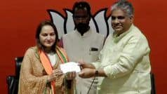 Veteran Actress Jaya Prada Inducted Into BJP, to Contest Lok Sabha Polls From Rampur Seat