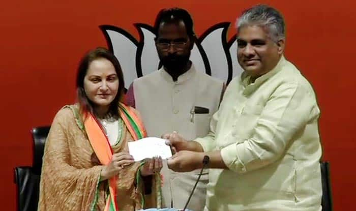 Veteran Bollywood Actress And Former MP Jaya Prada Joins BJP, to Contest Lok Sabha Polls From Rampur Seat