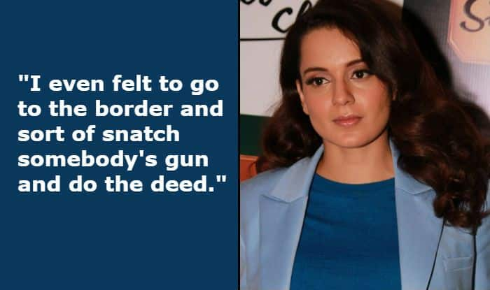 Kangana Ranaut Talks About Pulwama Attack Again, Says She 'Felt to go to Border, Snatch Somebody's Gun And do The Deed'