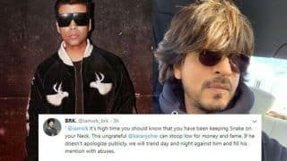 Karan Johar Faces Flak For Liking Anti-Shah Rukh Khan Tweet
