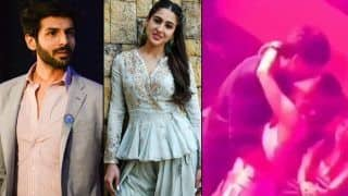 Sara Ali Khan-Kartik Aaryan Share a Passionate Kiss in This Viral Video From The Sets of Imtiaz Ali's 'Love Aaj Kal 2'