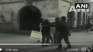 लंदन में भारतीय उच्चायोग के सामने ISI की साजिश, खालिस्तान समर्थकों को उकसा मोदी समर्थकों से लड़वाया