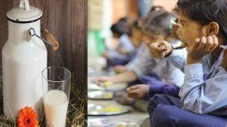 उत्तराखंड में आंगनवाड़ी केंद्रों पर बच्चों को फ्री दूध देने की योजना शुरू