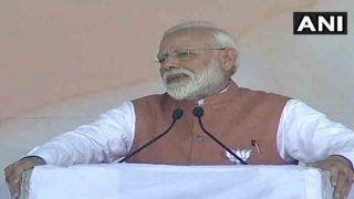 मेरठ में मोदी ने कहा- हमारी सरकार ने जमीन-आसमान-अंतरिक्ष में किया सर्जिकल स्ट्राइक