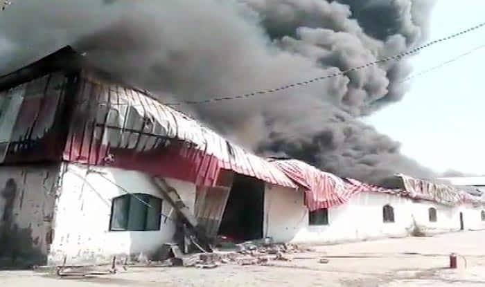 Greater Noida: Fire Breaks Out at Thermocol Factory, no Casualties Reported