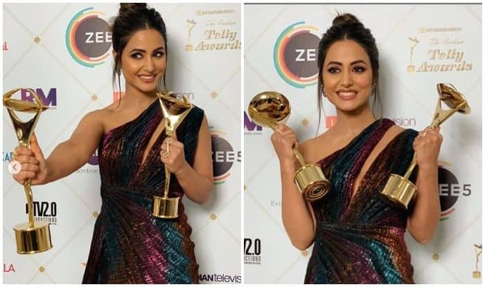 Hina Khan Flaunts Her Collection of Awards to Fans in an Adorable Video, Watch