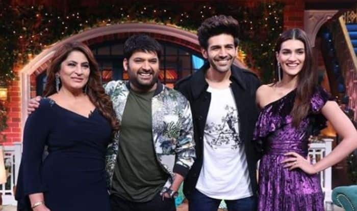 Kapil Sharma, Kriti Sanon, Kartik Aaryan