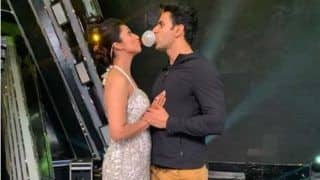 Television Fame Divyanka Tripathi Gets a Surprise From Husband Vivek Dahiya on The Sets of Singing Show, See Picture
