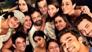 Priyanka Chopra, Janhvi Kapoor, Huma Qureshi, Ishaan Khatter, Sushant Singh Rajput, Tabu Pose For 'The Most Super Loaded Bollywood Selfie of The Season'