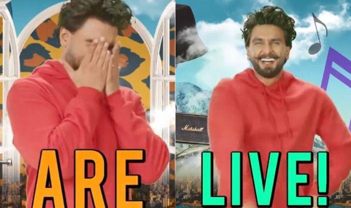 Ranveer Singh Shares Quirky GIFs on Instagram, Ali Abbas Zafar, Arjun ...
