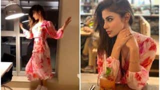 Television Hottie Mouni Roy Sizzles in Hot Floral Dress, Makes Fans Gush Over Viral Boomerangs And Pictures in 'Pepper Pot' Look