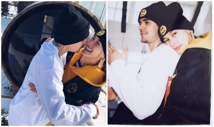 Hailey Baldwin Wishes 'Lover' Justin Bieber on Turning 25, Shares Pictures Twinning in Drew House's Beanies