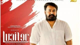 Lucifer Twitter Reaction: Mohanlal Starrer Political Thriller Opens to Positive Reviews, Twitterati Declare it a 'Blockbuster' And Call it 'Gripping' 'Class Movie' With 'Mass Scenes'