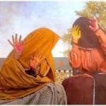 Taapsee Pannu-Bhumi Pednekar Raise Fans Curiosity as They Keep Their Look From Saand Ki Aankh Hidden While Wishing 'Happy Holi,' Share Colourful Picture on Social Media