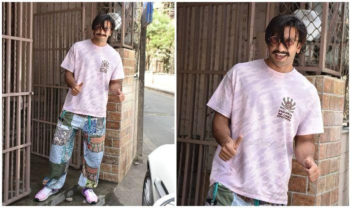 Ranveer Singh's Weekend Vibes Look Contagious as he is Papped Outside Recording Studio