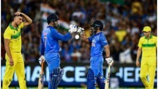 धोनी-जाधव के 'धमाके' से हारी ऑस्ट्रेलिया, जोरदार जीत पर हार्दिक पंड्या बोले, इंडिया-इंडिया