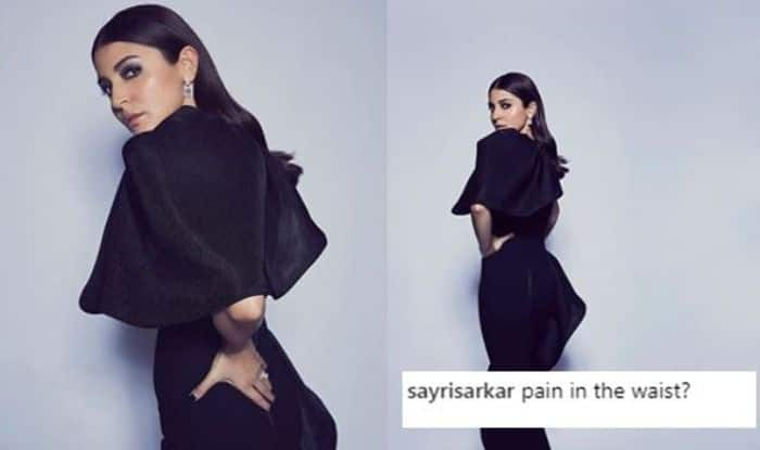 Anushka Sharma Gets Trolled For Her Latest Picture in Black Gown, People Say She Has Back Pain