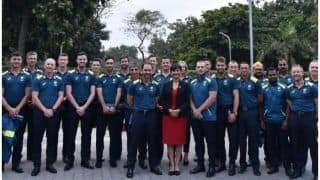 दिल्ली वनडे से पहले ऑस्ट्रेलियाई टीम को मिली 'डिनर पार्टी', 'बिशु' ने पिलाई जीत की घुट्टी!