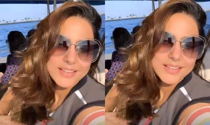 Hina Khan is Off to Maldives With Her Family, See Videos And Pictures