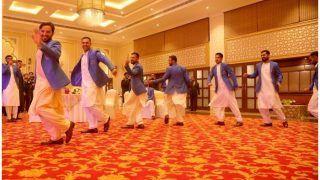 अफगानिस्तान क्रिकेट टीम ने किया ग्रुप डांस, पहले टेस्ट की मेजबानी पर पार्टी 'ऑल नाइट', VIDEO