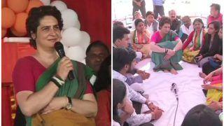अमीर ही रखते हैं चौकीदार, गरीब-किसान तो खुद करते हैं चौकीदारी: प्रियंका गांधी