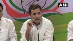 LS Polls LIVE: Cong Will Give Young Entrepreneurs Total Exemption For 3 Years, Says Rahul