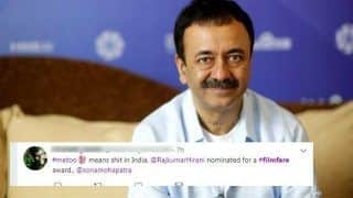 Sanju Director Rajkumar Hirani's Filmfare Nomination Despite Sexual Harassment Allegations Against Him Makes Twitterati Angry