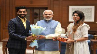 हार्दिक पटेल के खिलाफ चुनाव लड़ सकती हैं क्रिकेटर रवींद्र जडेजा की पत्नी