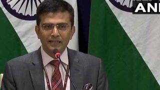 कश्मीर पर तीसरे पक्ष की कोई भूमिका नहीं, सामान्य संबंध बनाने की जिम्मेदारी पाकिस्तान पर: MEA