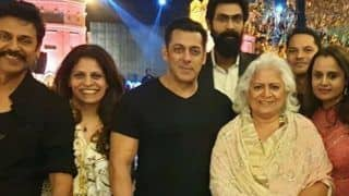 Salman Khan, Bina Kak, Rana Daggubati Attend Pre-wedding Function of Venkatesh Daggubati's Daughter in Jaipur