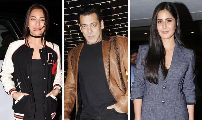 Salman, Sonakshi And Others Head For Da-Bangg Tour