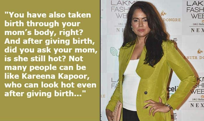 Sameera Reddy Takes Kareena Kapoor Khan's Name And Asks a Legit Question to Those Who Troll Her During Pregnancy