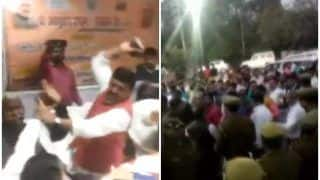 BJP सांसद से जूतों से पिटे MLA ने घेरा कलेक्ट्रेट, गिरफ्तारी की मांग, हाईकमान ने कहा- घटना दुर्भाग्यपूर्ण
