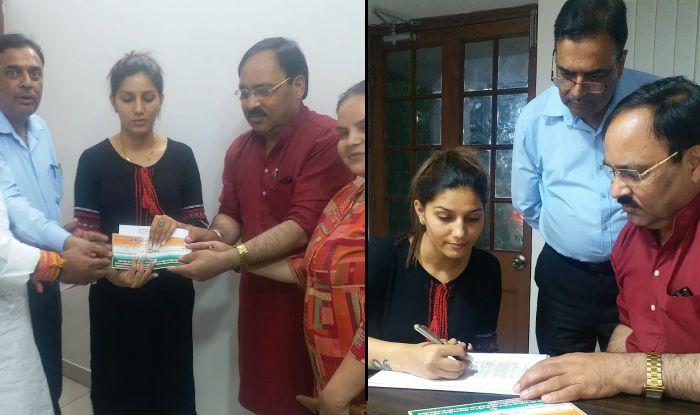 Sapna Choudhary Joins Congress, to Contest Lok Sabha Elections From Mathura Against Hema Malini?