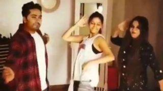 Haryanvi Hot Dancer Sapna Choudhary Grooves to Teri Aankhya Ka Yo Kajal With Her Friends, Watch