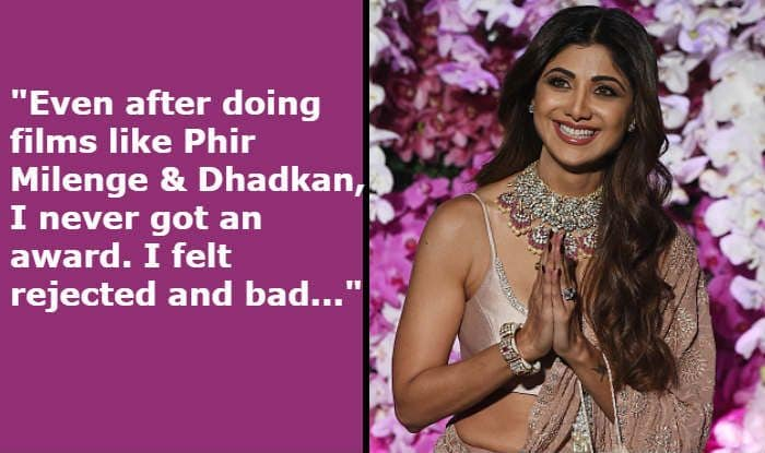 Shilpa Shetty Talks About Not Receiving Awards For 'Phir