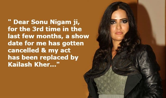 Sona Mohapatra Takes Sonu Nigam's Name Revealing Kailash Kher Replaces Her For The Third Time on a Show After Her #MeToo Story