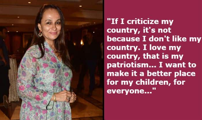 Soni Razdan Comments on Actors Getting Trolled For Speaking on Matters of National Importance