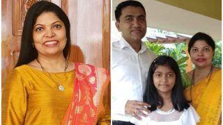 BJP की महिला मोर्चा अध्यक्ष हैं गोवा CM की पत्नी, बोलीं- पति कर्मठ हैं, RSS ने काफी कुछ सिखाया