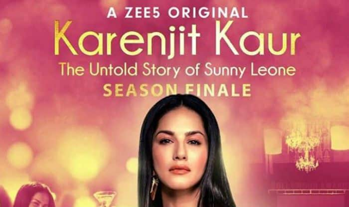 Sunny Leone Shares The Poster of Karenjit Kaur: The Untold Story of Sunny Leone Season Finale, Check Here