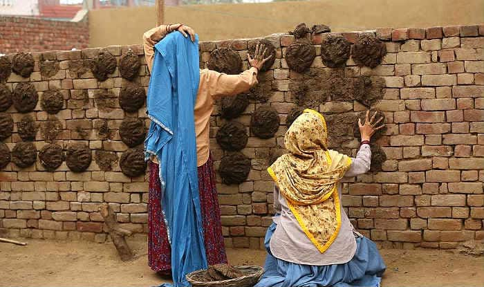 Taapsee Pannu And Bhumi Pednekar Make Some Cow Dung Cakes While Shooting  For 'Saand Ki Aankh', Check Viral Picture | India.com